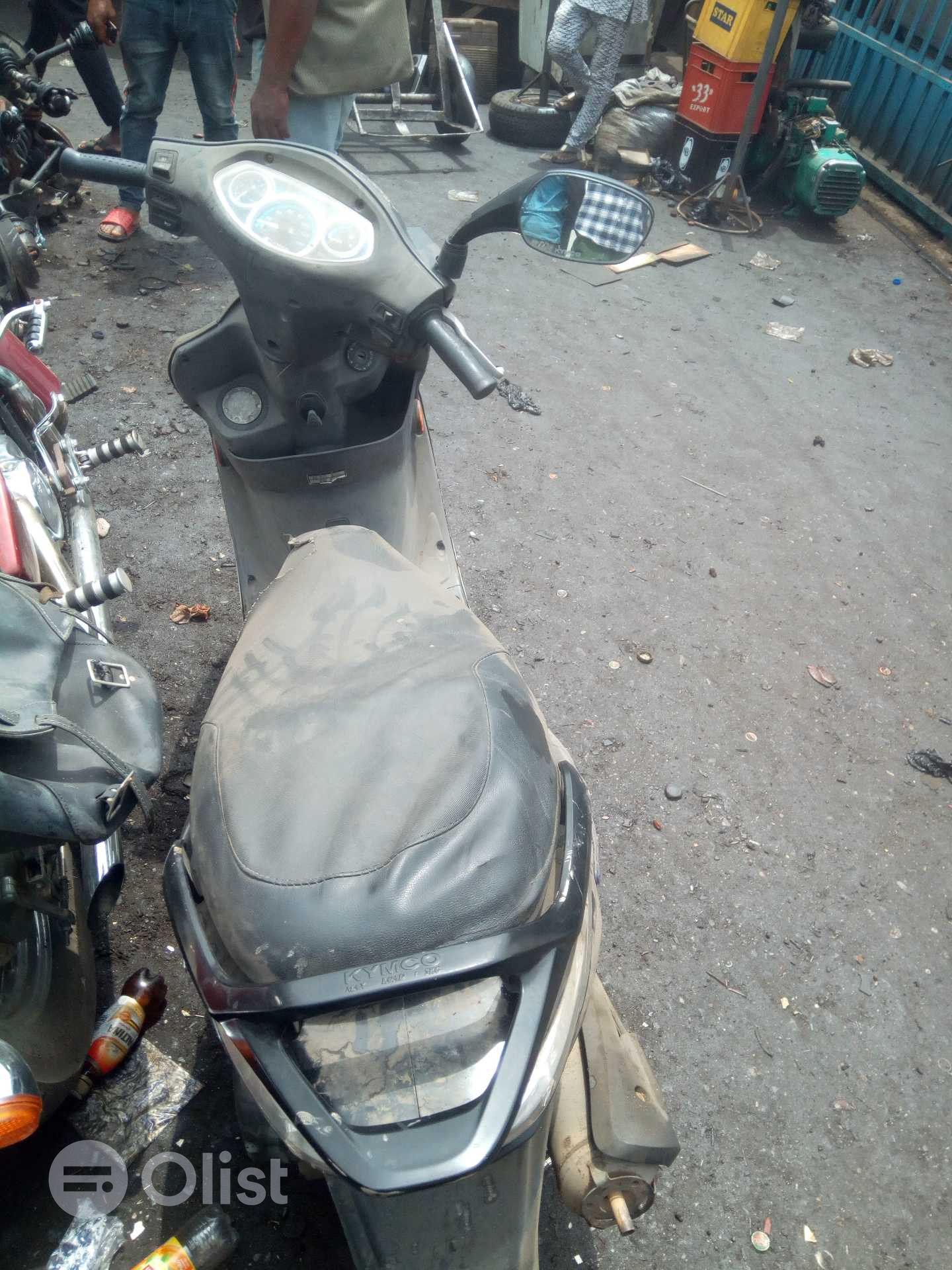 Kymco SkG motorcycle