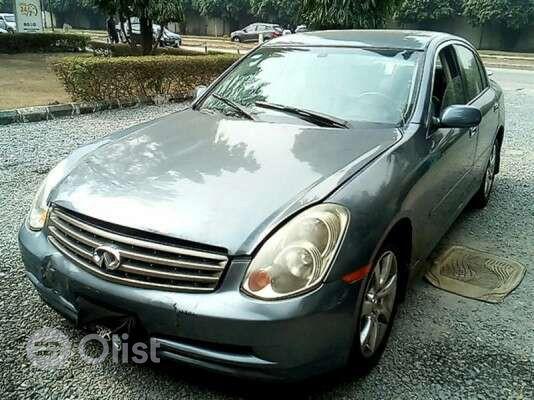 2005 Infiniti G  Automatic Nigerian Used