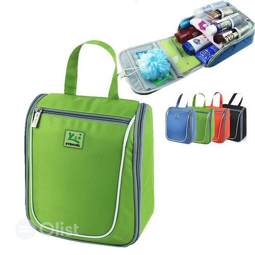 Travel Messenger Toiletry Bag
