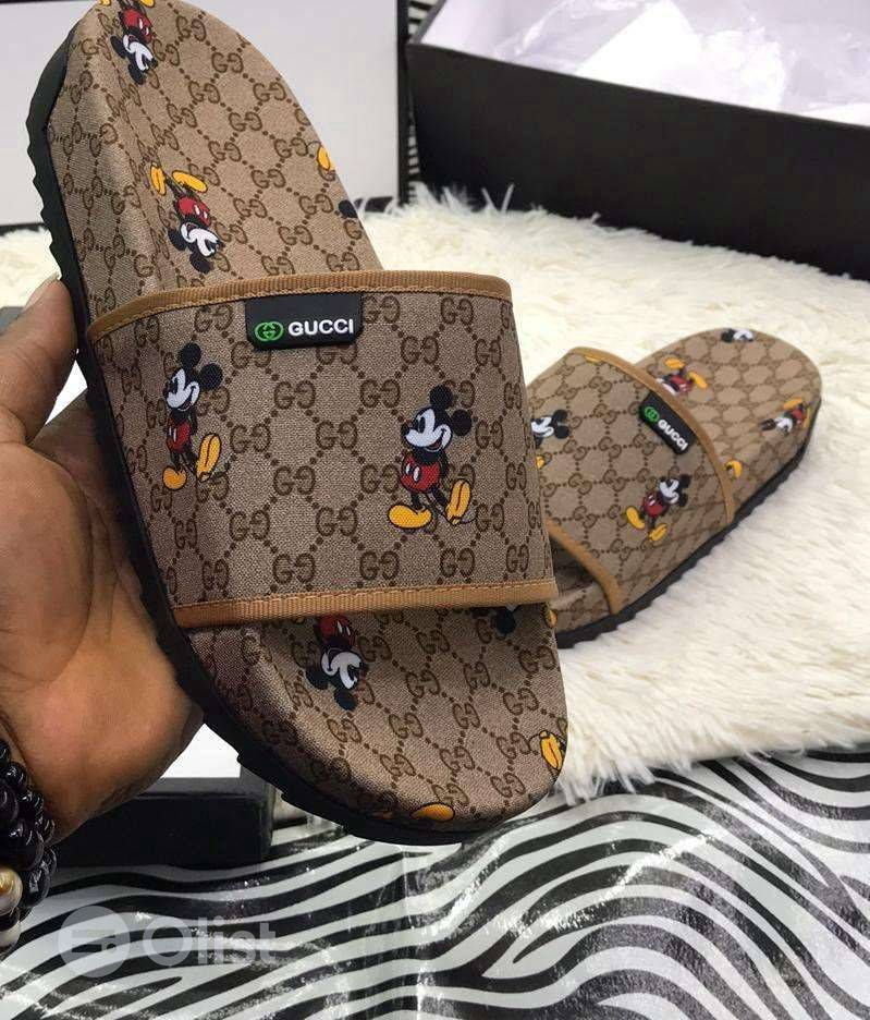 original Gucci slippers for guys