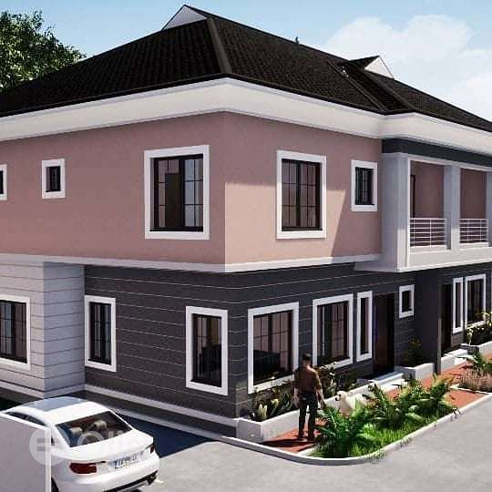 Good 4 bedroom duplex for sale.