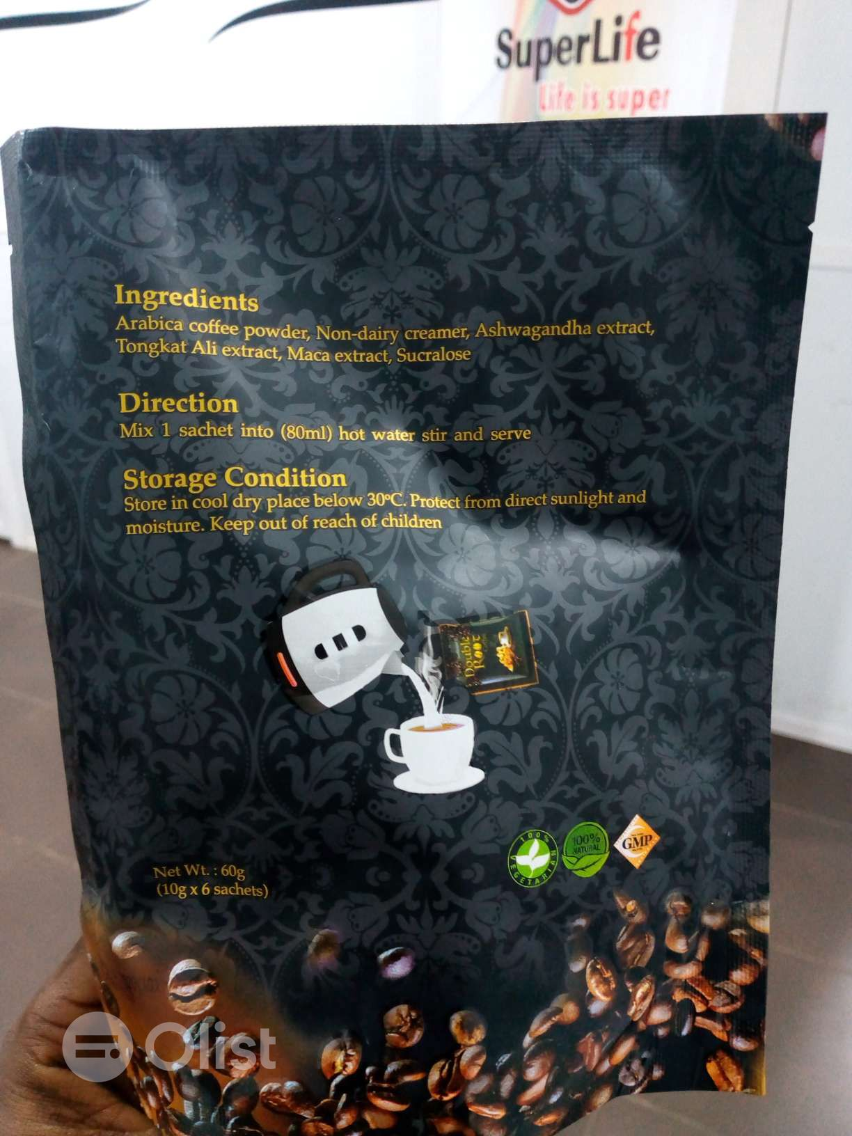 Superlife Double Root Coffee For Best Sex performance