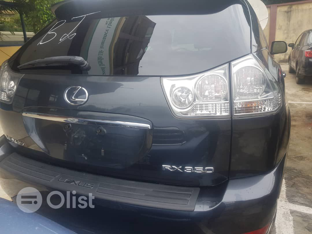 2009 Lexus RX Black Automatic Foreign Used