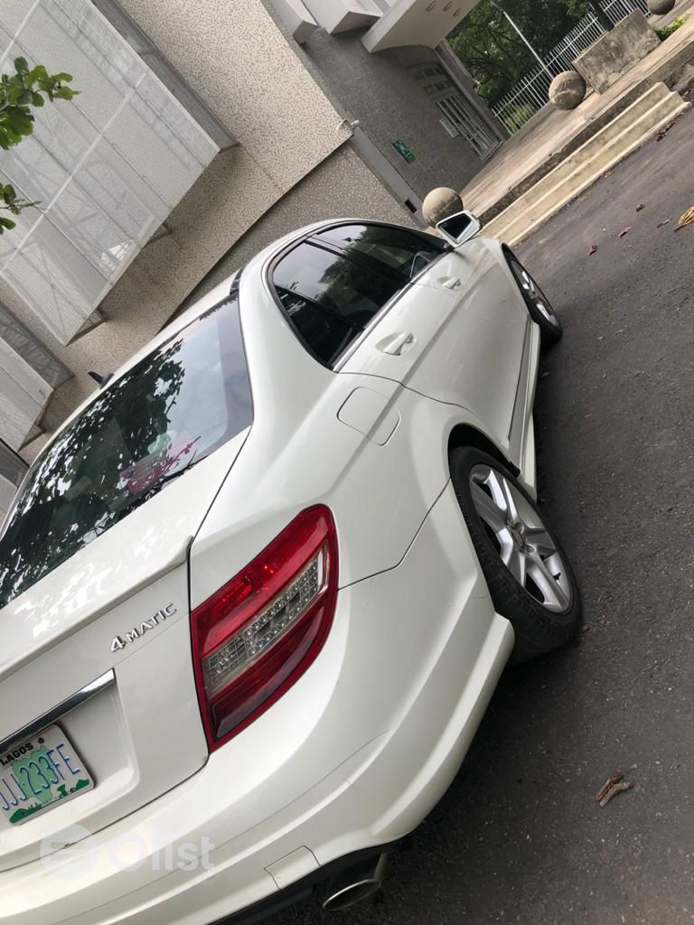 2008 Mercedes-Benz C300 White Automatic Nigerian Used
