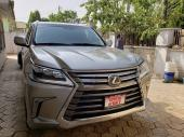 2019 Lexus LX Gold Automatic Foreign Used
