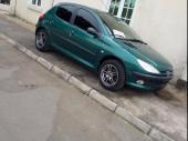 2003 Peugeot 206 Green Manual Foreign Used