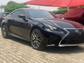 2016 Lexus RC Black Automatic Foreign Used