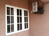 3bed room bungalow alone in the compound available