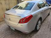 2014 Peugeot 508 Silver Automatic Nigerian Used