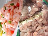Seafoods and foodstuff packaging