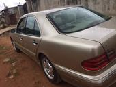 2002 Mercedes-Benz 200E Gold Automatic Nigerian Used
