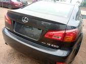 2007 Lexus IS Black Automatic Foreign Used