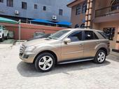 2009 Mercedes-Benz M Class Gold Automatic Foreign Used