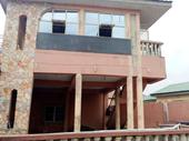 a one story building, self compound at oluyole extension. 800k