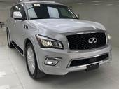 2016 Infiniti QX Silver Automatic Foreign Used