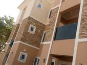 FOR RENT,EACH FLAT HAS BEDROOM AND 1 VISITORS ROOM