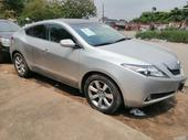 2010 Acura ZDX Silver Automatic Foreign Used