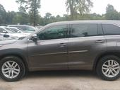2015 Toyota Highlander Gray Automatic Foreign Used