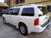 2005 Infiniti QX White Automatic Foreign Used