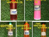 Organic whitening oil for cream and Soap production
