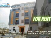 Newly Built 8 Units of 2 Bedroom Serviced Apartment For Rent
