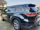 2015 Toyota Highlander Black Automatic Foreign Used