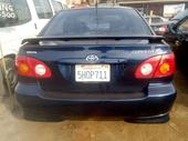 2004 Toyota Corolla  Manual Foreign Used
