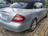 2008 Mercedes-Benz CLK 350 Silver Automatic Foreign Used
