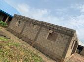 Uncompleted Detached 3 Bedroom on Roofing Level