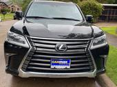 2017 Lexus LX Black Automatic Foreign Used