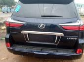 2018 Lexus LX Blue Automatic Foreign Used