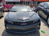 2012 Chevrolet Camaro Black Automatic Foreign Used