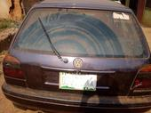 1998 Volkswagen Golf Blue Automatic Nigerian Used