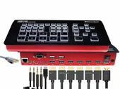 5 CHANNELS FHD SWITCHER VIDEO STREAMING ENCODER