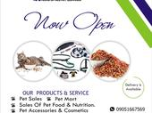 All kind of pet Supplies available as low as 500