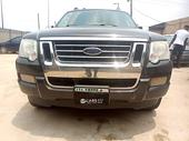 2007 Ford Explorer  Automatic Nigerian Used