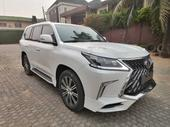 2019 Lexus LX White Automatic Foreign Used