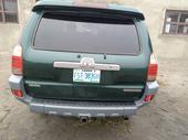 2006 Toyota 4-Runner Green Automatic Nigerian Used