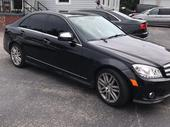 2009 Mercedes-Benz C300 Black Automatic Foreign Used