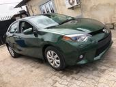 2016 Toyota Corolla Green Automatic Foreign Used