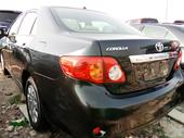 2010 Toyota Corolla Black Automatic Foreign Used