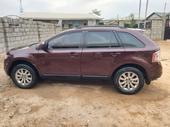 2010 Ford Edge Brown Automatic Nigerian Used