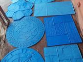 Increte stamped concrete mats mould and materials