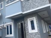 4 bedroom semi detached Duplex with a room bq