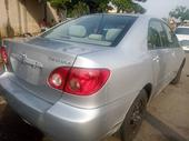 2005 Toyota Corolla Silver Automatic Foreign Used