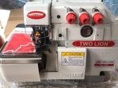 Two set of twolion overlock machines