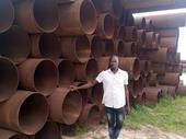 230 PIECES 24 INCH 40FT  PIPES FOR SALE