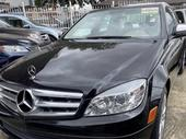 2008 Mercedes-Benz C300 Black Automatic Foreign Used
