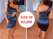 SIZE TEN DRESSES EACH GOING FOR THREE THOUSAND NAIRA ONLY