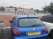 2004 Peugeot 206 Blue Manual Foreign Used